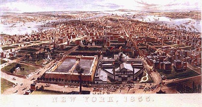 Manhattan, New York, 1855