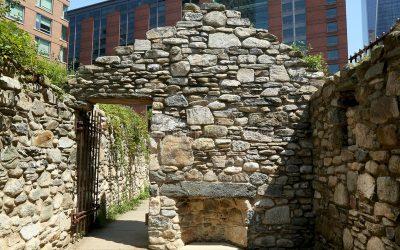 Irish hunger Memorial – New York City