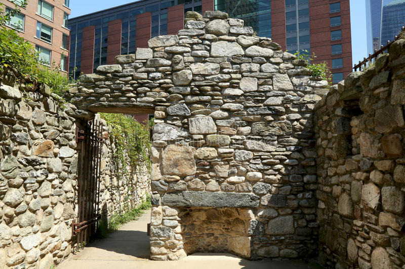 Irish hunger Memorial – New York City