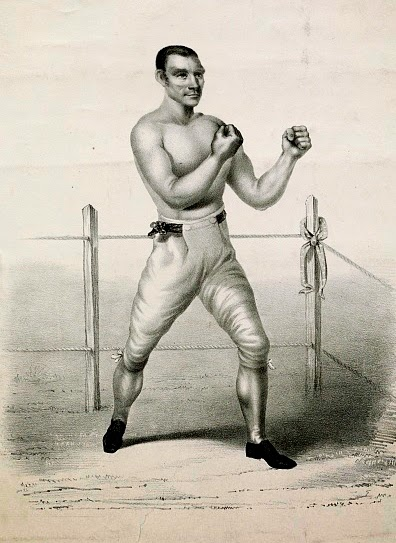 Yankee Sullivan Prizefighting Champion