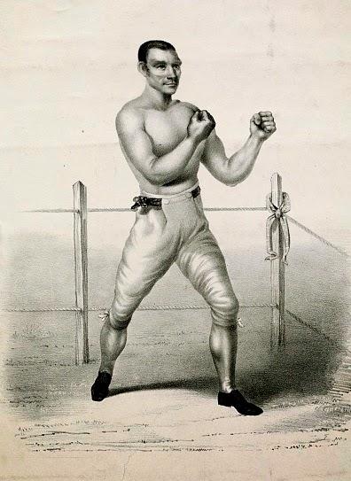 Yankee Sullivan Prizefighting Champion