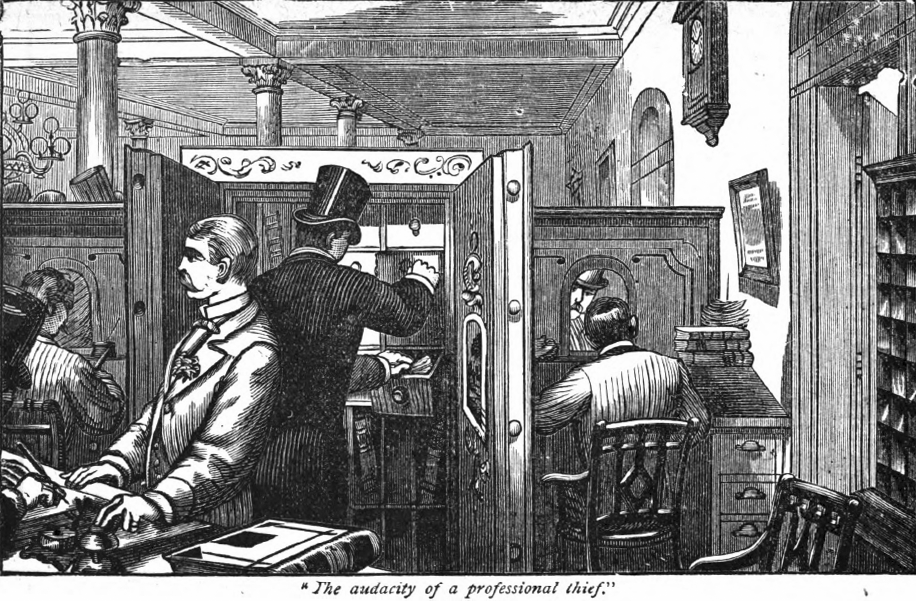The Manhattan Savings Institution Bank Robbery 1878