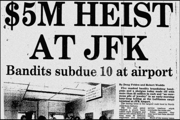 The Lufthansa Heist 1978