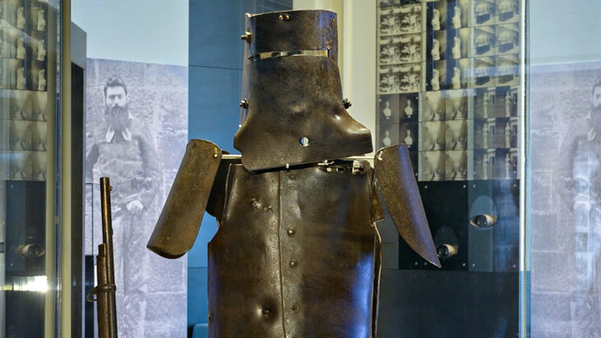 Ned Kelly – Bucket Head Ned – The Outback Outlaw