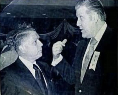 "Frank ""The Irishman"" Sheeran and Jimmy Hoffa"