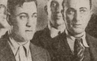Dutch Schultz gets arrested