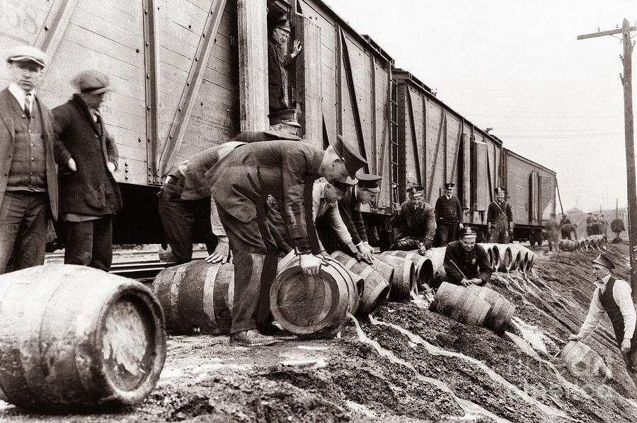 scranton-police-dumping-beer-during-prohibition-scranton-pa-1920-to-1933-arthur-miller