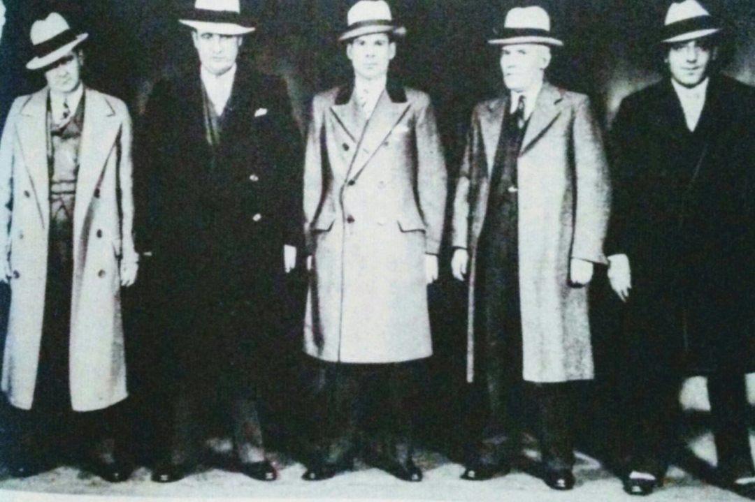 Klondike O Donnell – William White – Murray Humphreys – Charles Fischitti