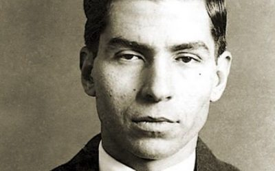 Lucky Luciano goes for a ride